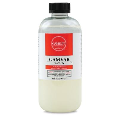 Gamvar Satin Varnish, 16.9 oz
