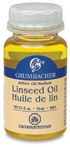 Linseed Oil Medium, 2.5 oz