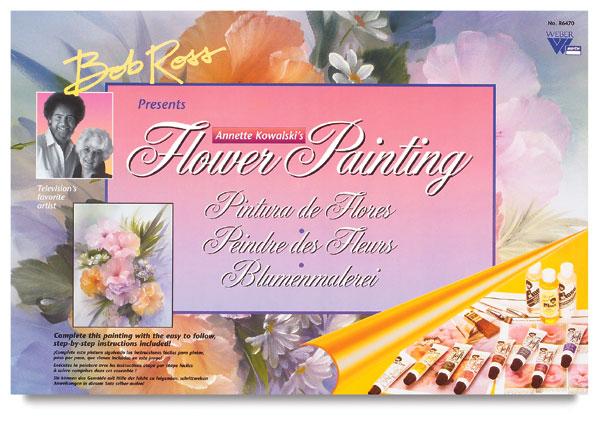 Bob Ross Floral Set