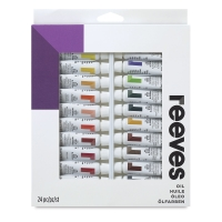 Intro to Art, Set of 24 Oil Tubes