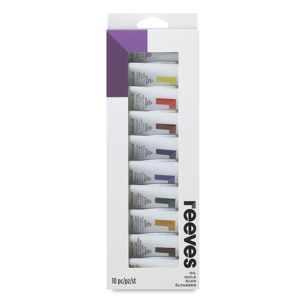 Intro to Art, Set of 10 Oil Tubes