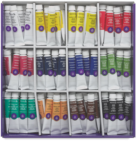 Intro to Art Class Pack, Set of 144 Tubes