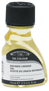 Refined Linseed Oil, 75 ml