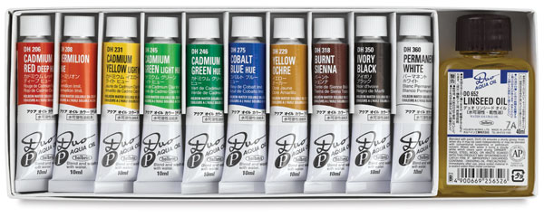 Color and Linseed Oil Set