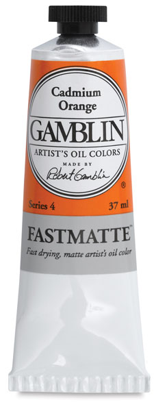 37 ml Tube, Cadmium Orange