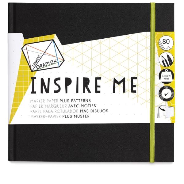 "Graphik Inspire Me Book, 8"" × 8"""