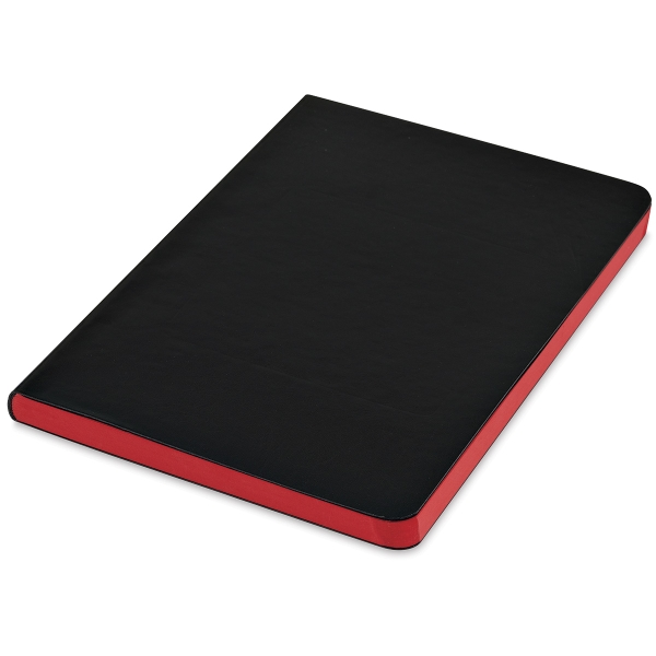 Faux Leather Journal, Red Pages