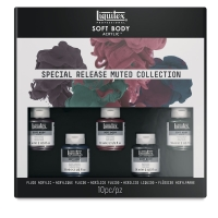 Muted Colors Set of 5