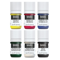 Liquitex Soft Body Acrylic, Mixing Set of 6, 22 ml