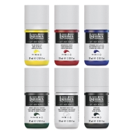 Liquitex Soft Body Acrylic, Mixing Set of 6, 59 ml