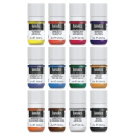 Liquitex Soft Body Acrylic, Essentials Set of 12