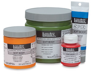 Liquitex Professional Soft Body Acrylics