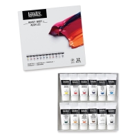 Liquitex Heavy Body Acrylics, Essentials Set of 12