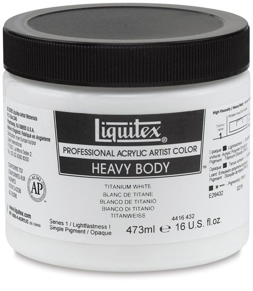 Liquitex Professional Heavy Body Acrylics, 473 ml