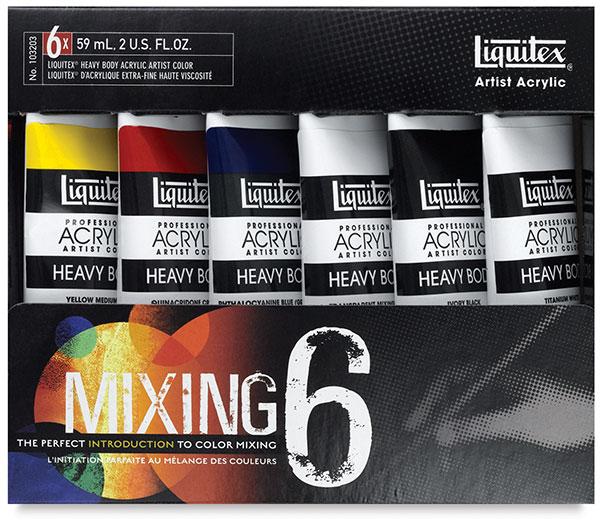 Primary Mix 6-tube Set