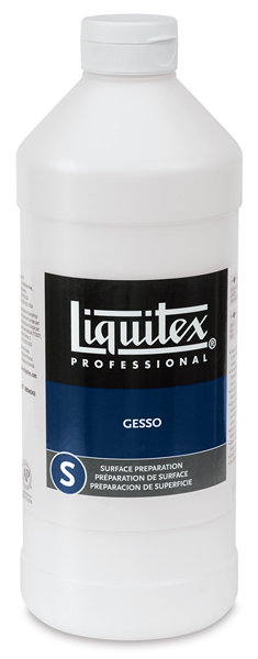 White Gesso, 32 oz Bottle