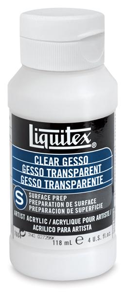 Clear Gesso, 4 oz Bottle