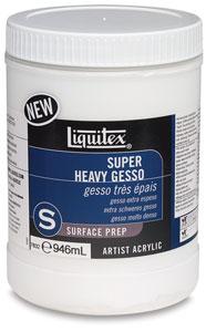 Super Heavy Gesso, 32 oz Jar
