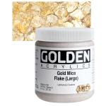 Gold Mica Flake (Large)