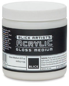 Gloss Medium, 8 oz