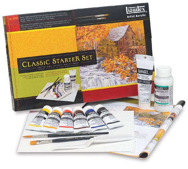 Classic Acrylic Starter Set