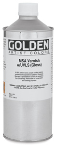 MSA Varnish, 32 oz Can
