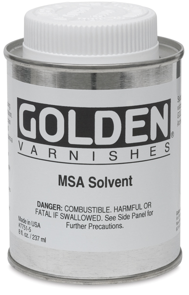 Artist Colors MSA Solvent, 8 oz