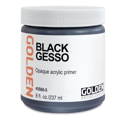 Gesso, Black