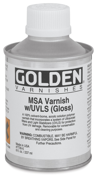 MSA Varnish, 8 oz Can