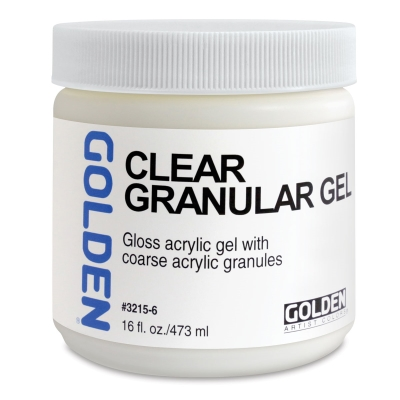 Clear Granular Gel