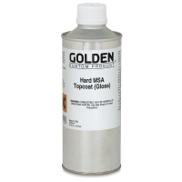 Hard MSA Topcoat, Gloss, 16 oz
