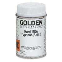 Hard MSA Topcoat, Satin, 4 oz