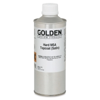 Hard MSA Topcoat, Satin, 16 oz