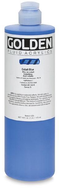 Cobalt Blue, 16 oz Bottle