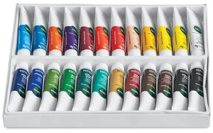 Set of 24 Colors, 10 ml Tubes