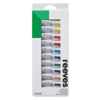 Set of 12 Colors, 10 ml Tubes