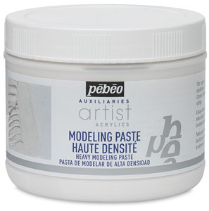 Pebeo Acrylic Medium, Modeling Paste