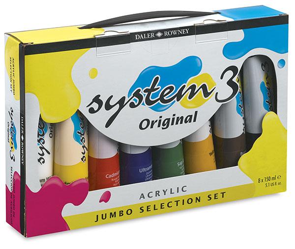 Jumbo Set of 8 Colors