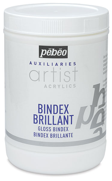 Pebeo Acrylic Medium, Gloss Bindex
