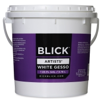 Artists' White Gesso, 1 Gallon