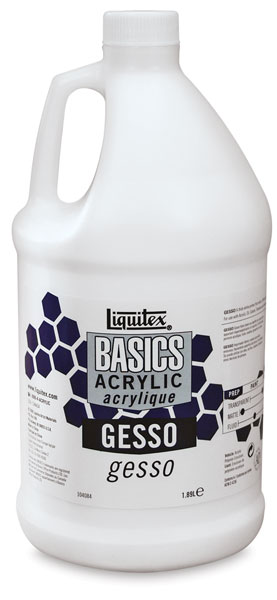 Liquitex Basics Gesso, 64 oz Bottle, Packaging may vary