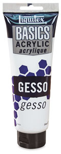 Liquitex Basics Gesso, 8.5 oz Tube
