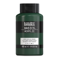 Hooker's Green Hue Permanent, 14 oz (400 ml) bottle. (stock is mixed)