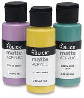 Blick Matte Acrylics