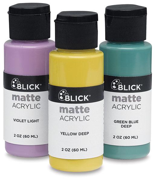 Matte Acrylic Paint