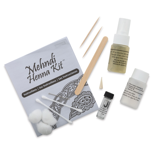 Jacquard Mehndi Henna Body Art Kit Blick Art Materials