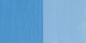Blue Calico Satin