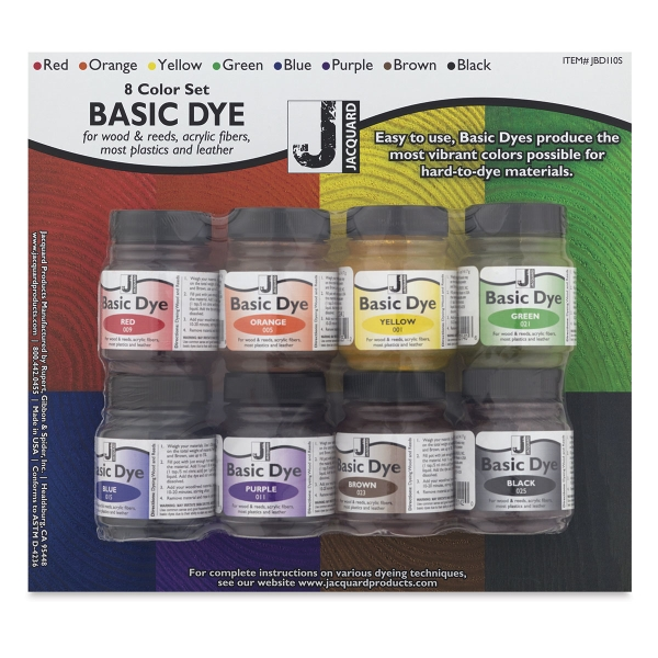 Jacquard basic dye set blick art materials sciox Gallery