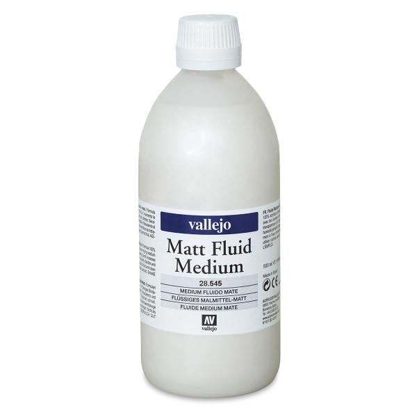 Acrylic Fluid Medium, Matte