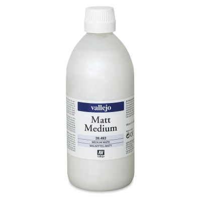 Vallejo Medium, Matte